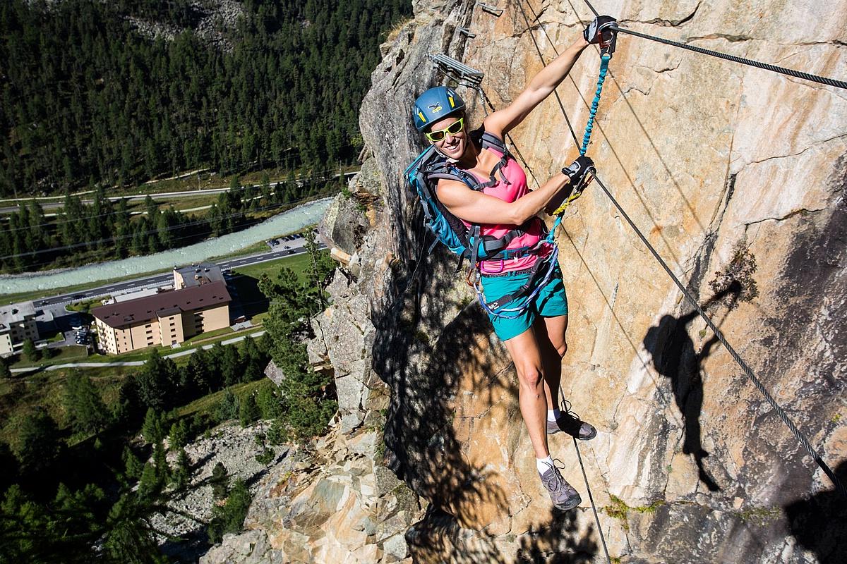 Klettersteig La Resgia : La resgia klettersteig c d jakub cejpek